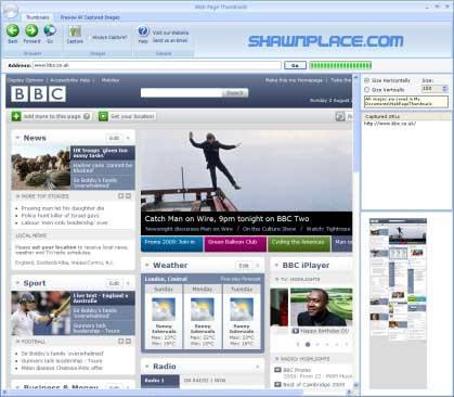 Web Page Thumbnail
