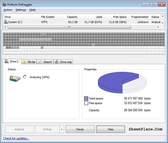 Portable Defragment Program Download