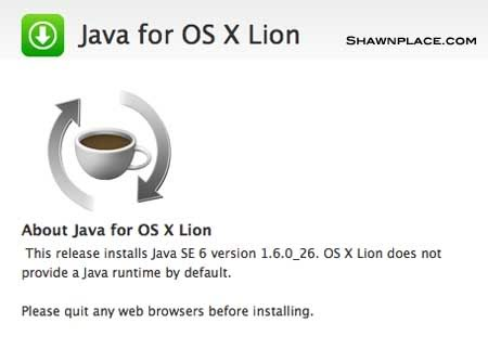 Java Lion Download