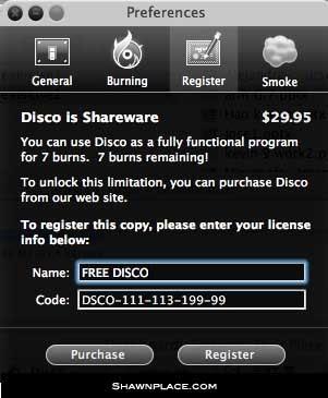 Mac Burner License Key
