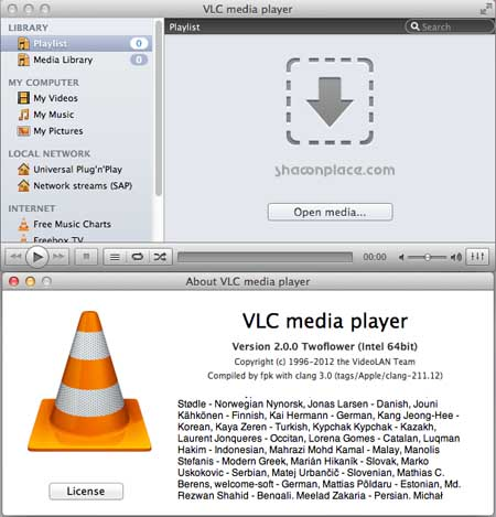 VLC 2 for Mac (video player)