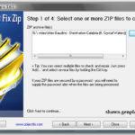 Software for Repairing Zip archive files Download