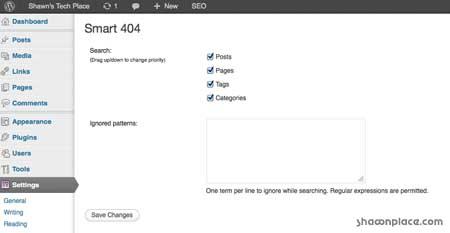 Smart 404 -SEO