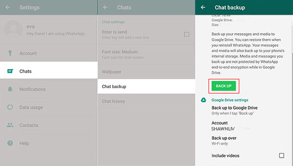 How to Get Unlimited WhatsApp Chat Backup Storage   Shawn